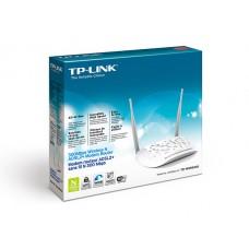 ADSL Modem Router TP-LINK (TD-W8961ND) Wireless N300 เหมาะสำหรับ Access Point ภายในบ้าน เชื่อมต่อระบบ Hotspot